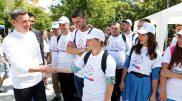 2016_07_09_Kryetari Veseli mori pjesë në hapjen e fushatës për promovimin e Regjistrit të Diasporës (1)