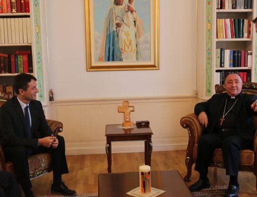 Ministri Murati -ipeshkvi, imzot Dodë Gjergji