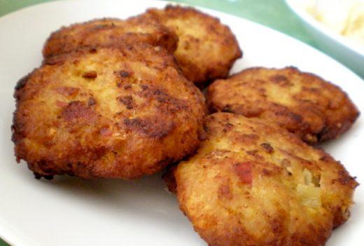 Qofte me mish pule dhe patate
