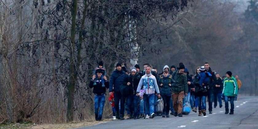Disa irakianë nisën për në Kosovë  përmes Shqipërisë