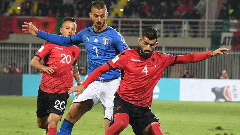 Shqipëria kundër Turqisë