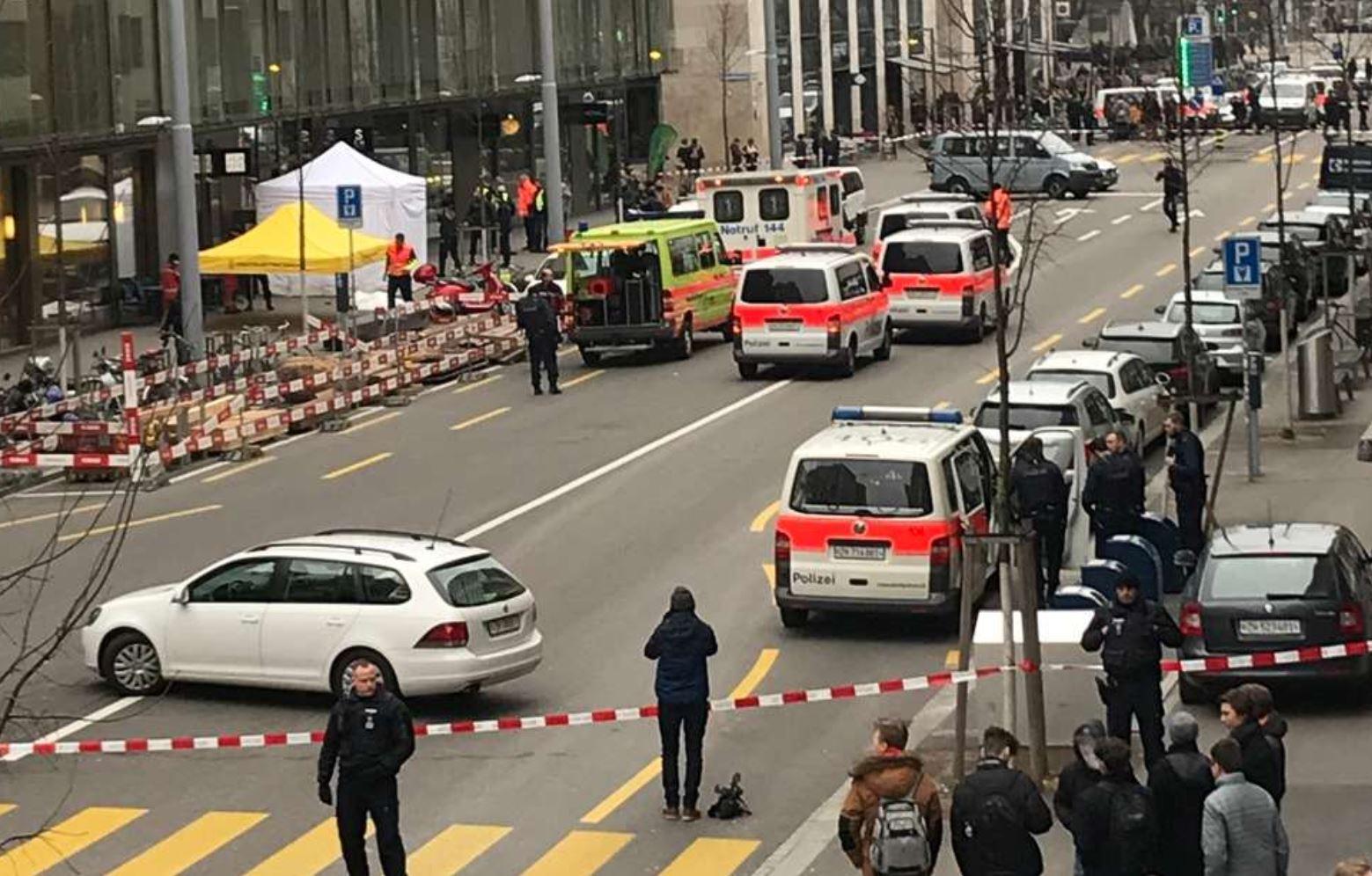Dy të vrarë në qendër të Cyrihut