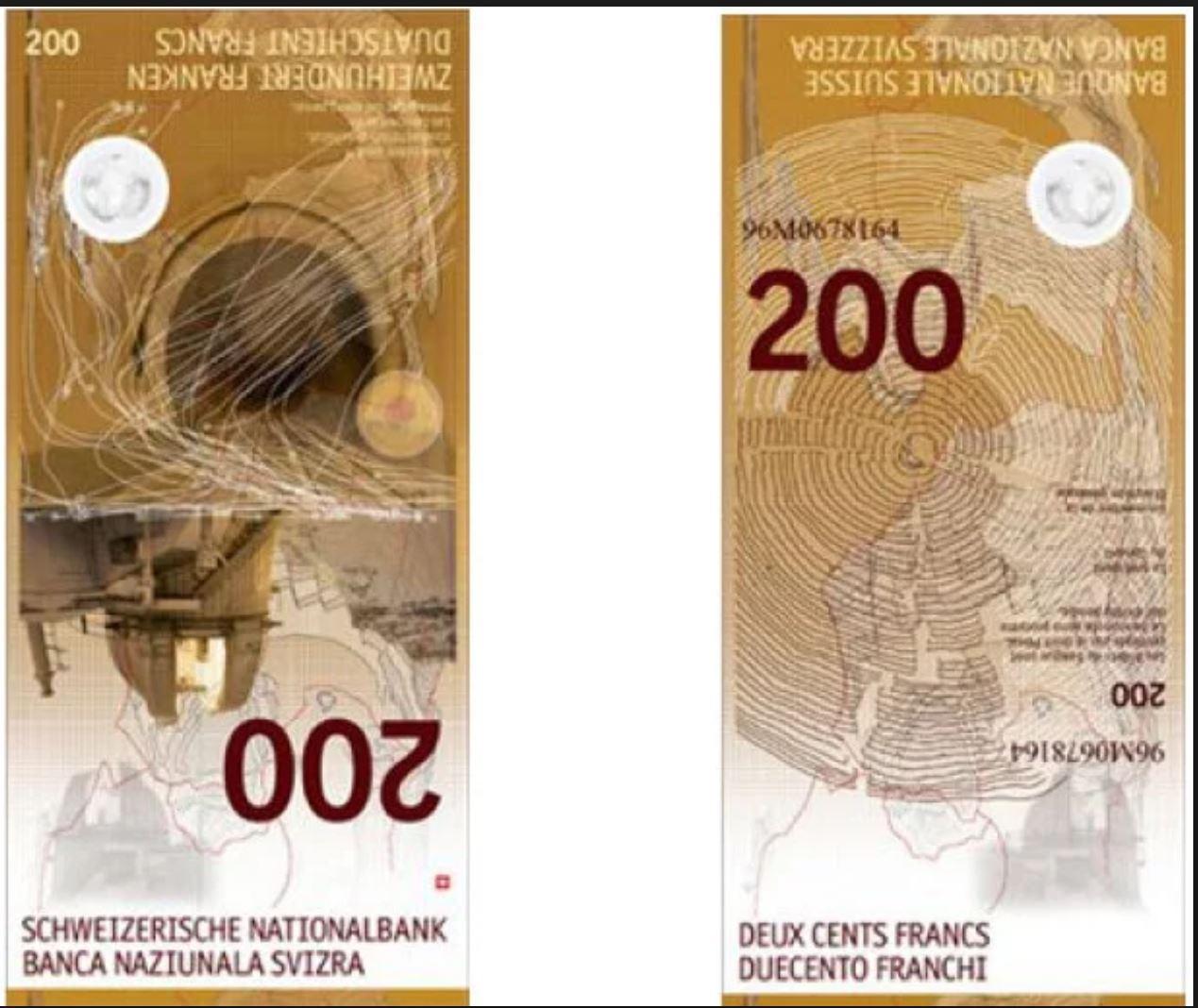 Në gusht vjen bankënota e re 200 frangëshe
