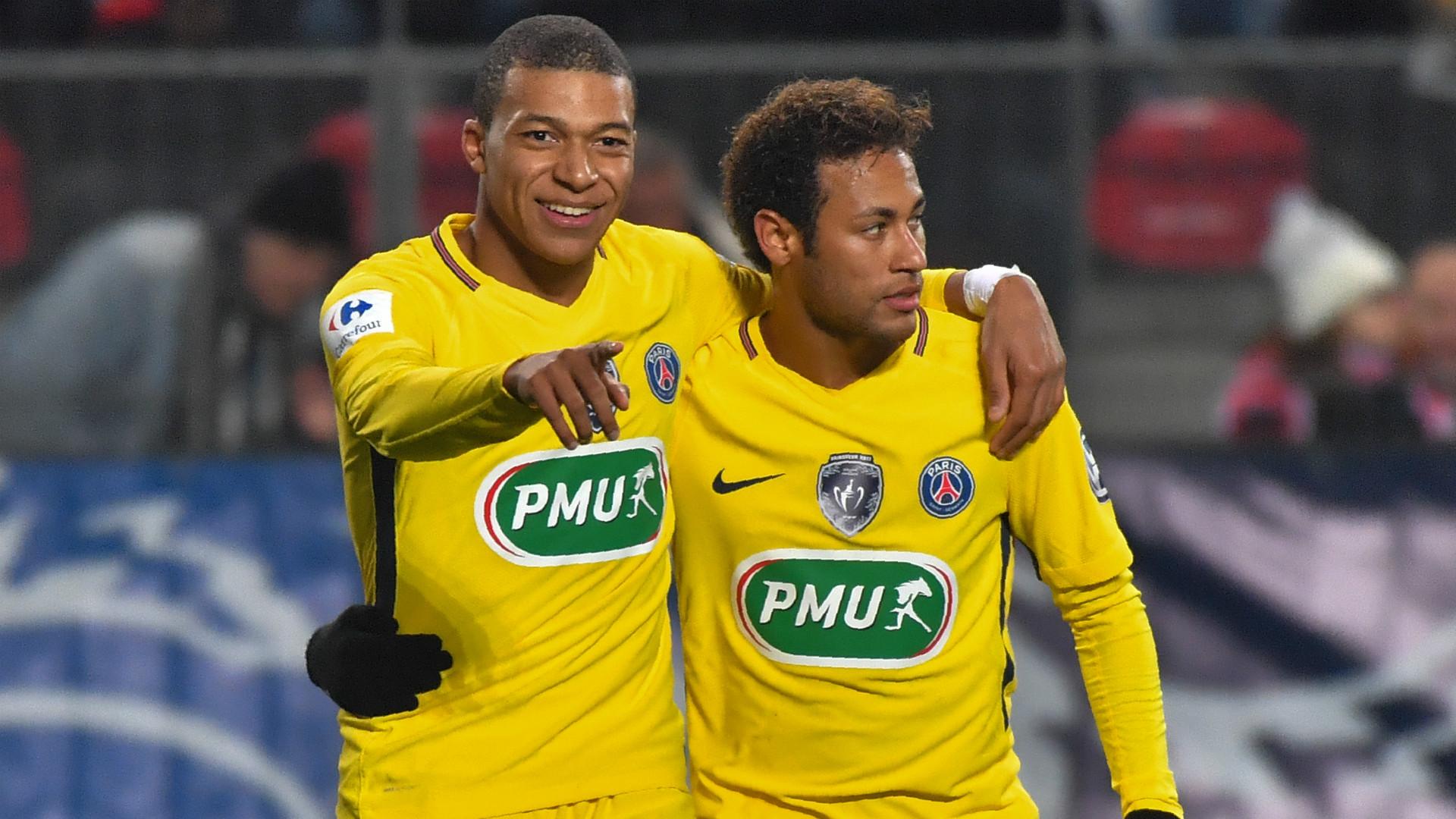 Mbappe  eklispon  Neymar  PSG gati të shesë brazilianin