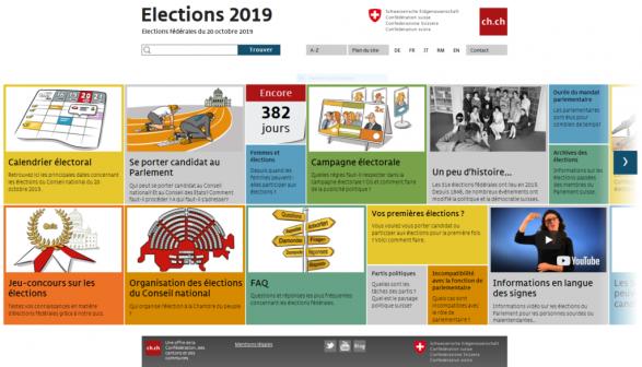 Calendrier Election 2019.Elections Federales 2019 La Confederation Et Les Cantons