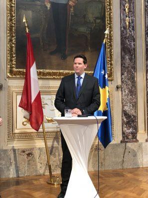 Ambasada e Kosovës në Austri kremtoi 11-vjetorin e Pavarësisë së Kosovës