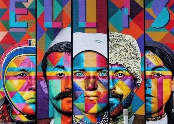 Fytyra e mërgimtarit shqiptar  në muralin e madh të New York ut