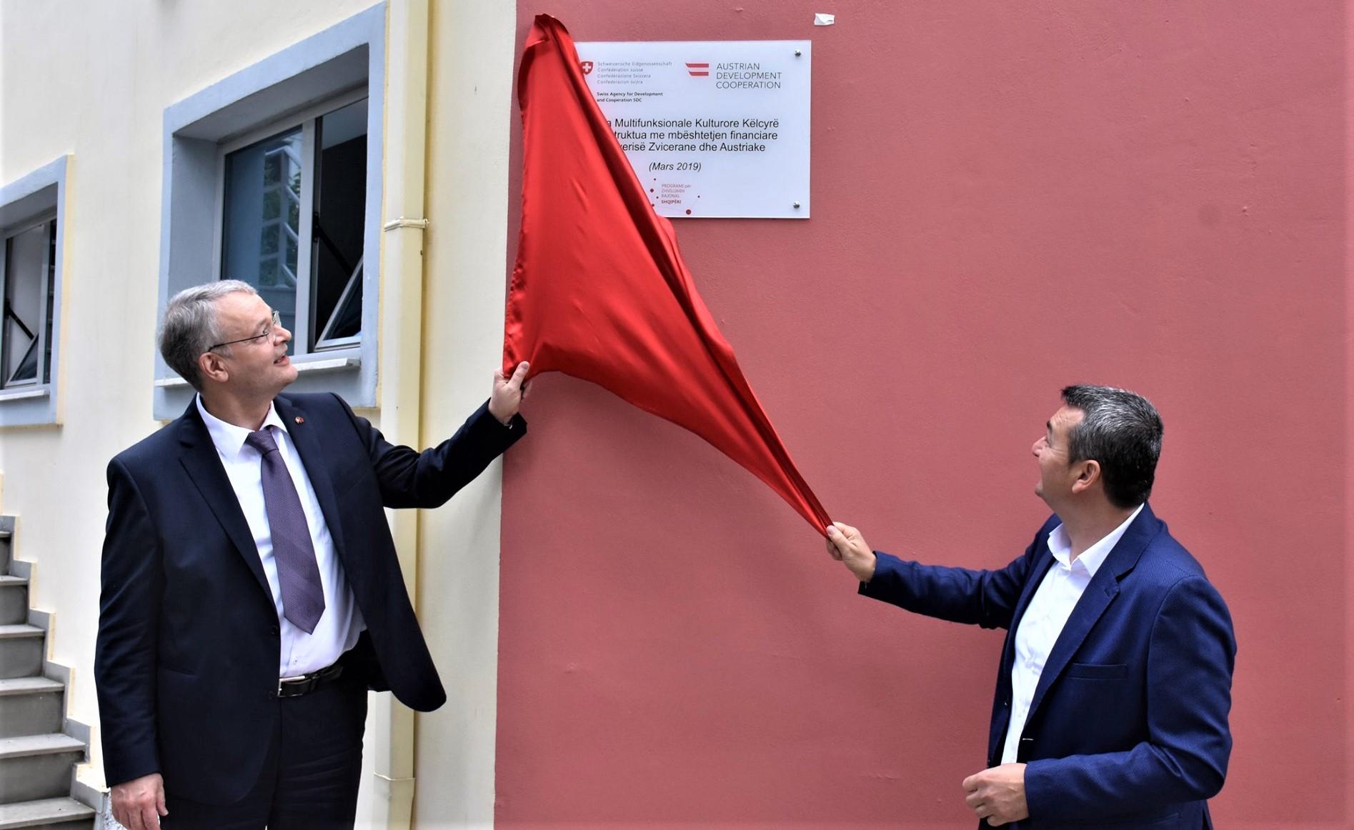 Shqipëri  Përurohen objektet e financuara nga Zvicra dhe Austria
