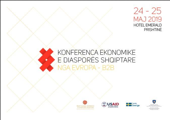 Bashkohen Bizneset e Diasporës nga Evropa me Bizneset Kosovare përmes Konferencës Ekonomike