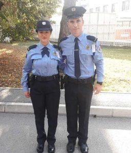 Burrë e grua diplomojnë si kadetë të Policisë së Kosovës