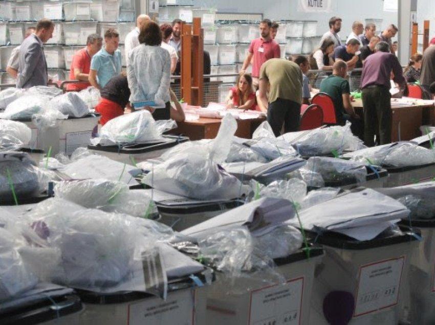 Mbi 73  e vendvotimeve janë rinumëruar