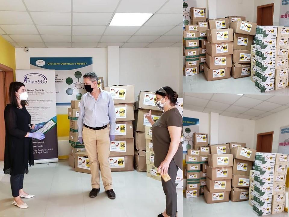 Gjermania ndihmon Shqipërinë  dhuron pajisje mjekësore në spitale