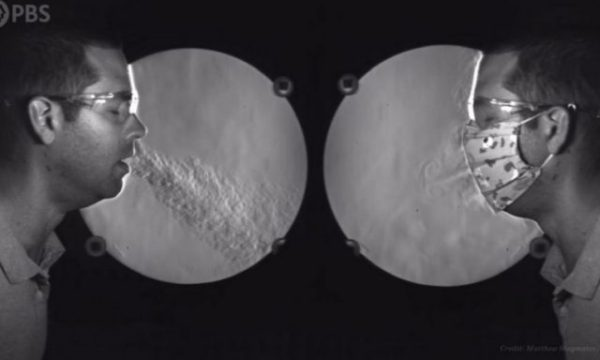 Kamera speciale tregon se si maska ju mbron nga koronavirusi