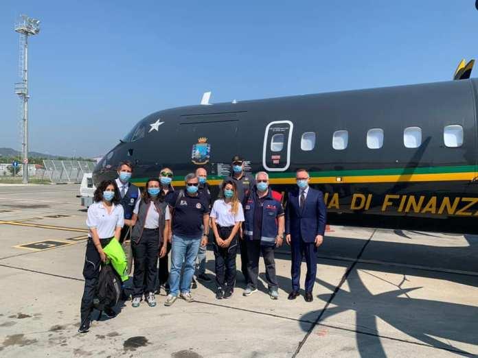 Ekipi i ekspertëve shëndetësor italian kthehen nga Shqipëria në atdhe