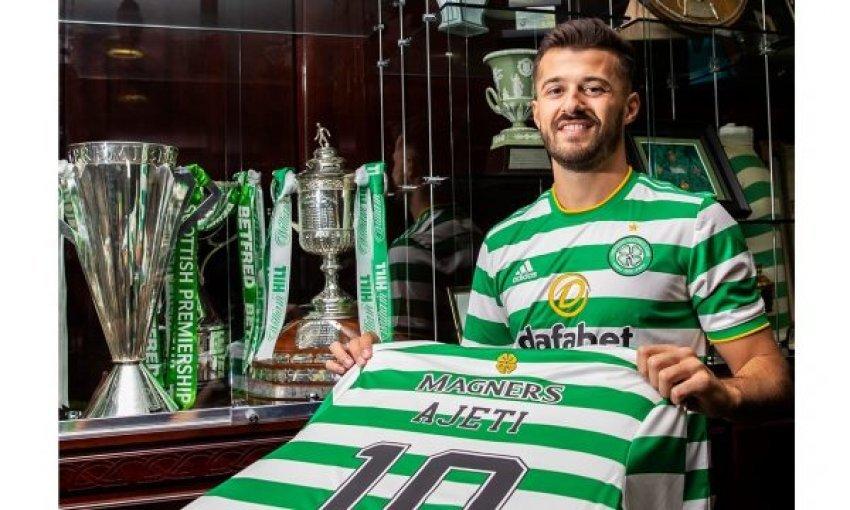 Zyrtare  Albian Ajeti pjesë e skuadrës së Celtic