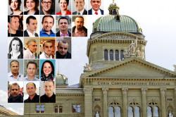 Emrat shqiptarë në politikën zvicerane