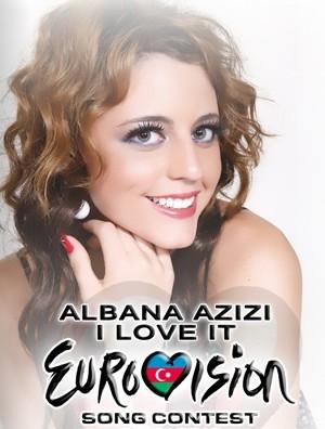 Unë, Albana Azizi kam konkurruar në Eurovision për Zvicrën. Ka qenë ëndrra ime fëmijërore të marr pjesë ndonjë herë në festivalin e Eurovisionit. - albana7895879654321_-_Kopie-300x396